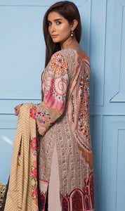 WYRR-7056 - PRINTED ORIGINAL 3PC LAWN SUIT WITH LAWN DUPATTA - SUMMER COLLECTION 2019 - 2020