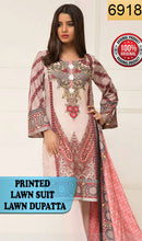 Load image into Gallery viewer, WYSI-6918 - PRINTED ORIGINAL 3PC LAWN SUIT WITH LAWN DUPATTA - SUMMER COLLECTION 2019 - 2020