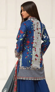 WYSI-6919 - PRINTED ORIGINAL 3PC LAWN SUIT WITH LAWN DUPATTA - SUMMER COLLECTION 2019 - 2020