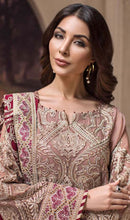 Load image into Gallery viewer, WYYH-7906 - FULL EMBROIDERED DESIGNER 3PC CHIFFON SUIT WITH CHIFFON DUPATTA - PARTY WEAR DRESS 2019 - 2020