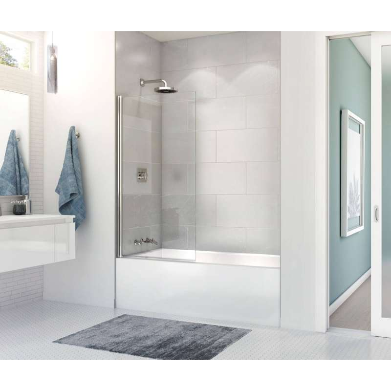 60in X 30in X 14in Alcove Soaking Bathtub Integrated Tiling Flange And Skirt - BNGBath