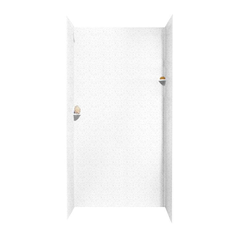 36x48x96 Swanstone Solid Surface Shower Wall Kit - BNGBath