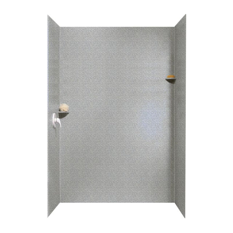 36-In x 62-In x 96-In Swanstone Solid Surface Shower Wall - BNGBath