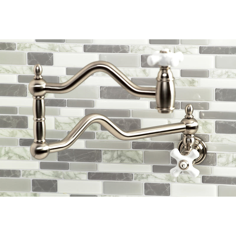 Kingston Brass Heritage Pot Filler - BNGBath