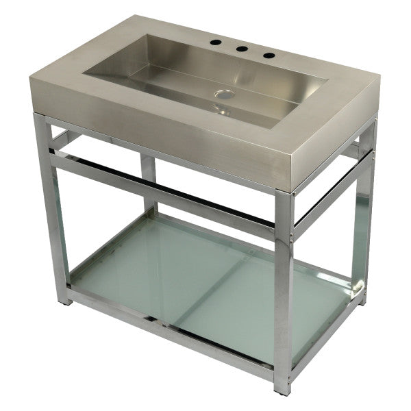 Kingston 37x22x35 Commercial Console Vanity Sink w/Base - BNGBath