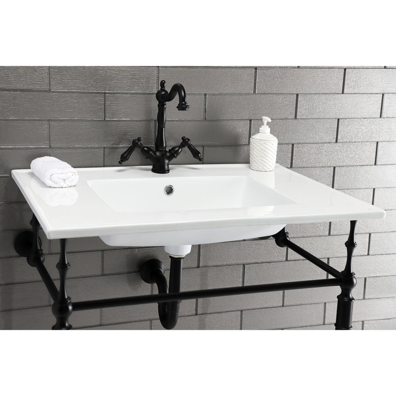 Continental 31 x 22 Ceramic Vanity Top W/1 hole & Integrated Basin - BNGBath