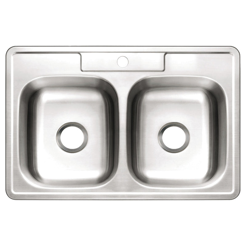 Gourmetier Studio Drop-In Kitchen Sinks - BNGBath