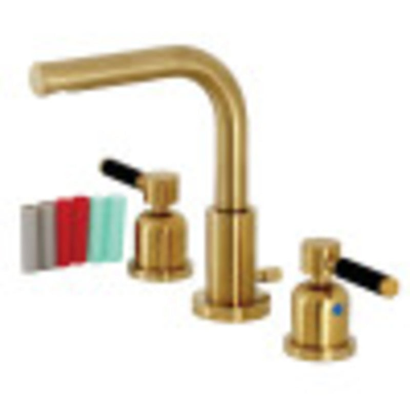 Fauceture Kaiser Widespread Bathroom Faucets - BNGBath