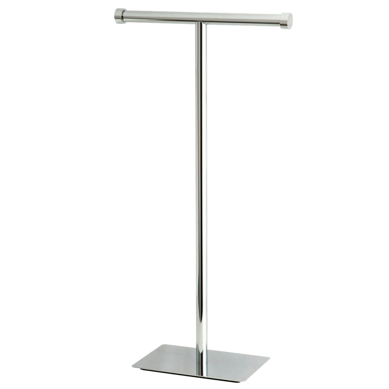 Kingston Brass CC8101 Claremont Freestanding Toilet Paper Stand, Polished Chrome - BNGBath