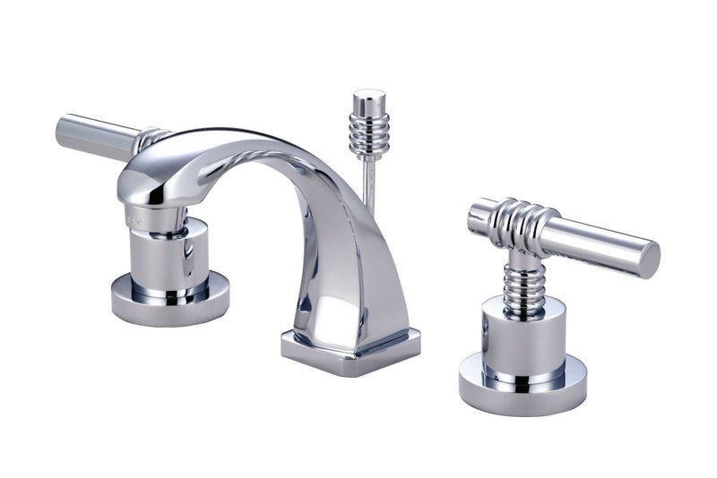 Kingston Brass Claremont Widespread Bathroom Faucets - BNGBath