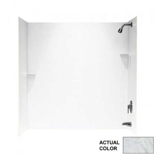"30"" x 60"" x 60"" Swanstone Bathtub Wall Kit - BNGBath"