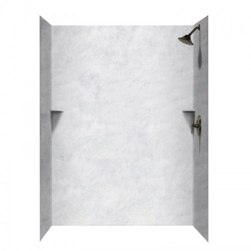 36-In x 62-In x 96-In Swanstone Solid Surface Shower Wall