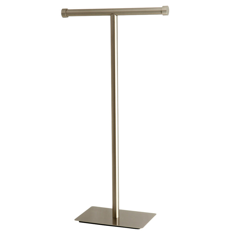 Kingston Brass CC8108 Claremont Freestanding Toilet Paper Stand, Brushed Nickel - BNGBath