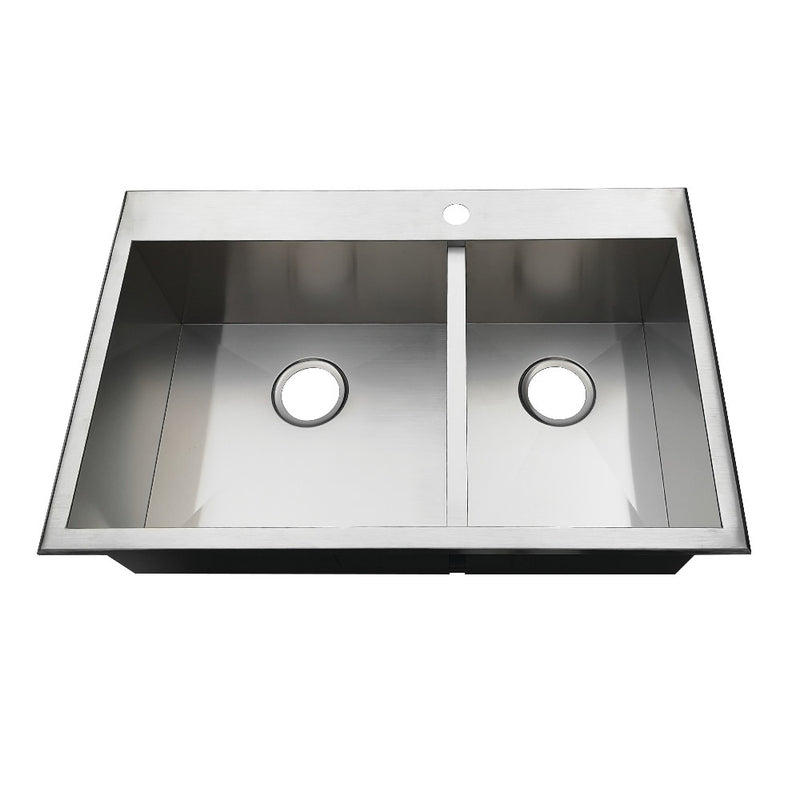 Gourmetier Uptowne Drop-In Kitchen Sinks - BNGBath