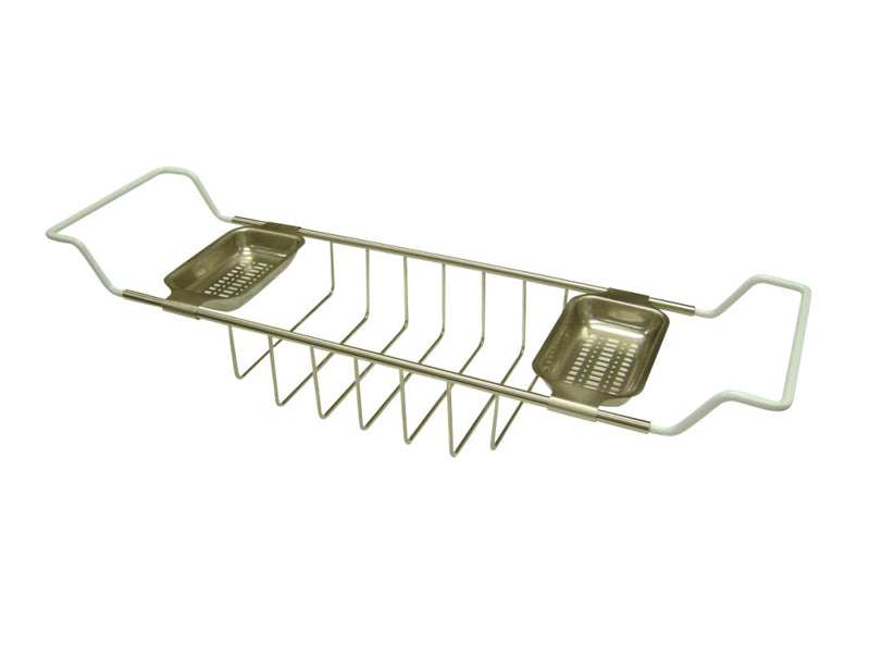Kingston Brass CC2158 Clawfoot Bath Tub Shelf, Brushed Nickel - BNGBath