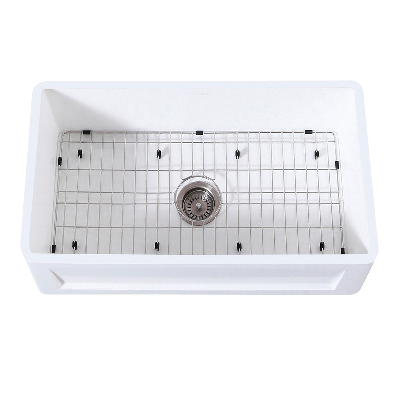 Gourmetier Arcticstone Farmhouse Kitchen Sinks - BNGBath