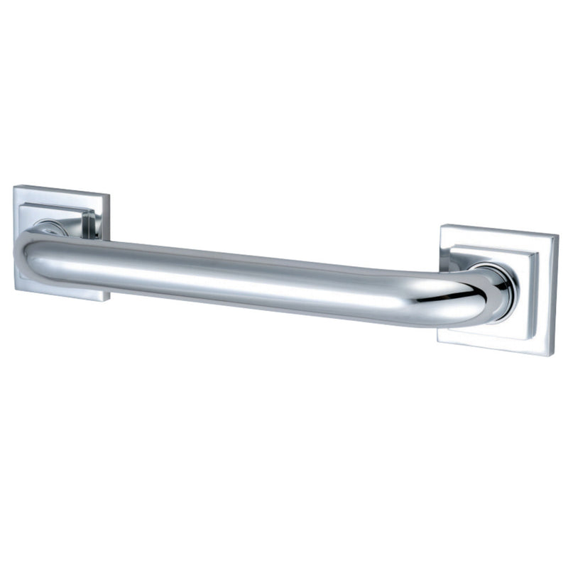 "Kingston Brass DR614121 Claremont 12"" Grab Bar, 1-1/4"" Diameter, Polished Chrome - BNGBath"