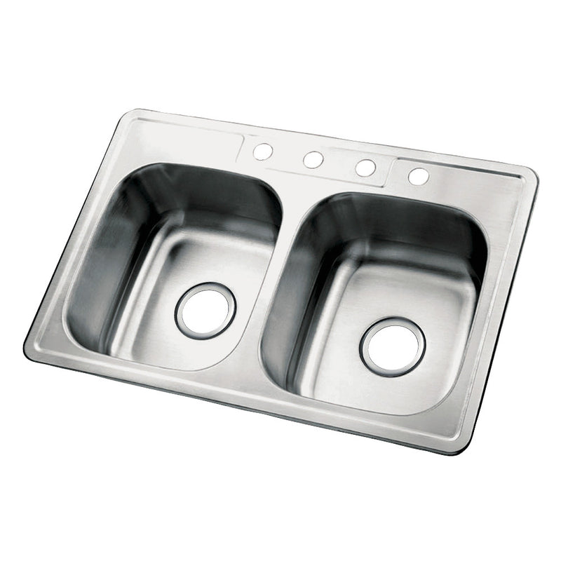 Gourmetier Carefree Drop-In Kitchen Sinks - BNGBath