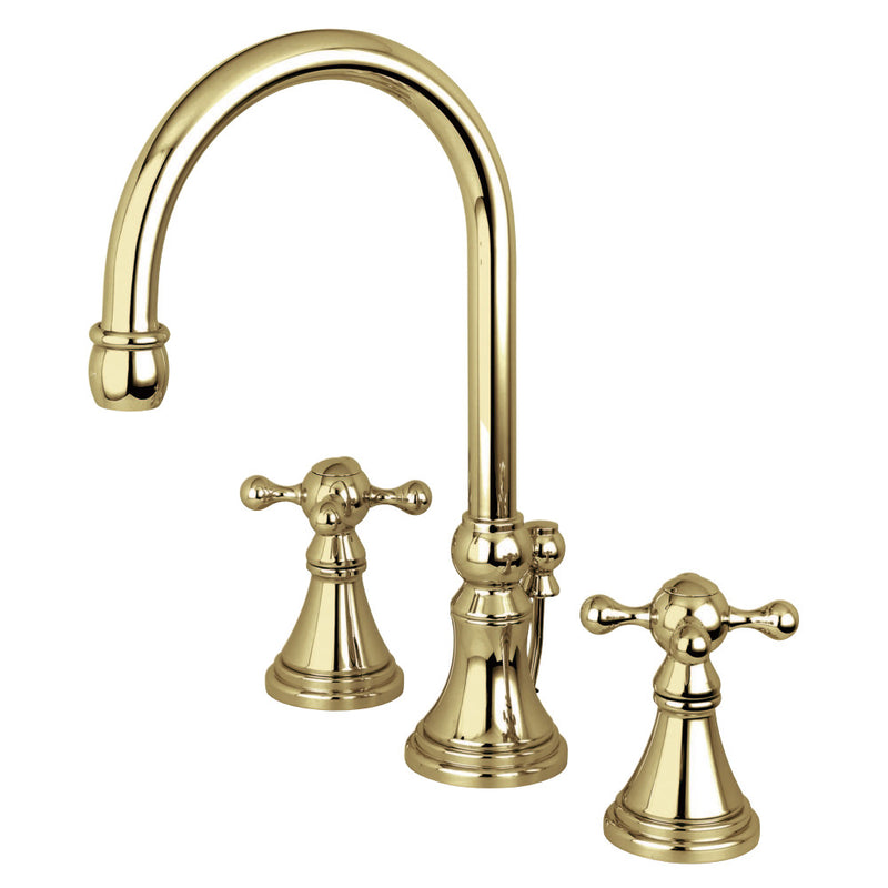 Kingston Brass Governor Widespread Bathroom Faucets - BNGBath