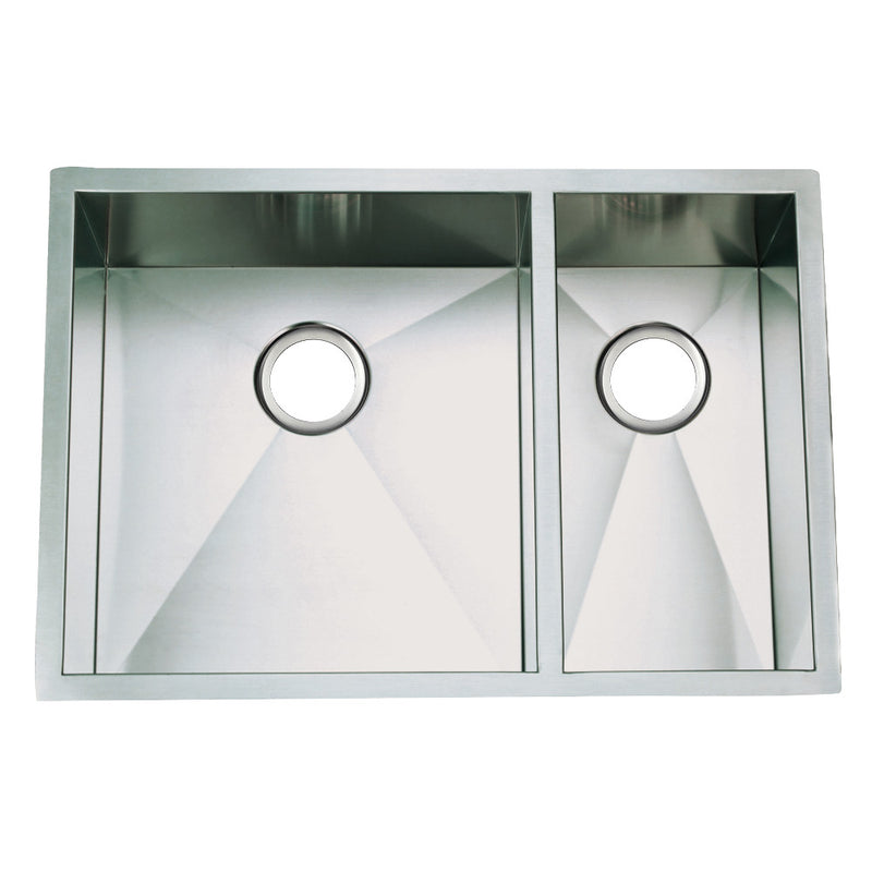 Gourmetier Towne Square Undermount Kitchen Sinks - BNGBath