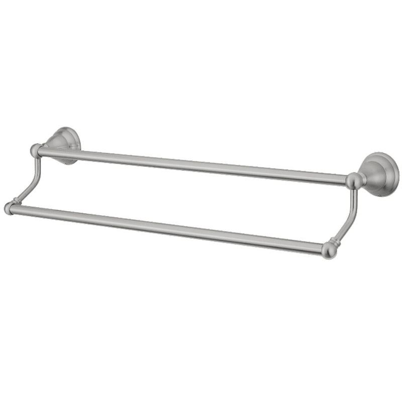 Kingston Brass BA556318SN Royale 18-Inch Dual Towel Bar, Brushed Nickel - BNGBath