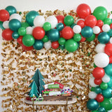 102pcs/set Merry Christmas Balloons Set Santa Claus Snowman Tree Bell Balloon for 2020 Christmas Party Decoration Xmas Supplies