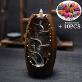 15 Kinds Of Fragrance Backflow Incense Cones 168pcs Cones Big Capacity Box For Waterfall Incense Burner Censer Smell Removing