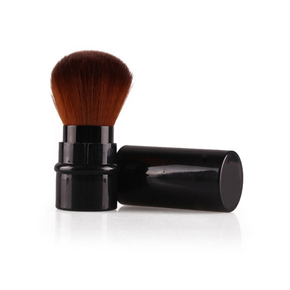 1PC Portable Mini Retractable Foundation Makeup Powder Blusher Beauty Brushes Travel Cosmetic