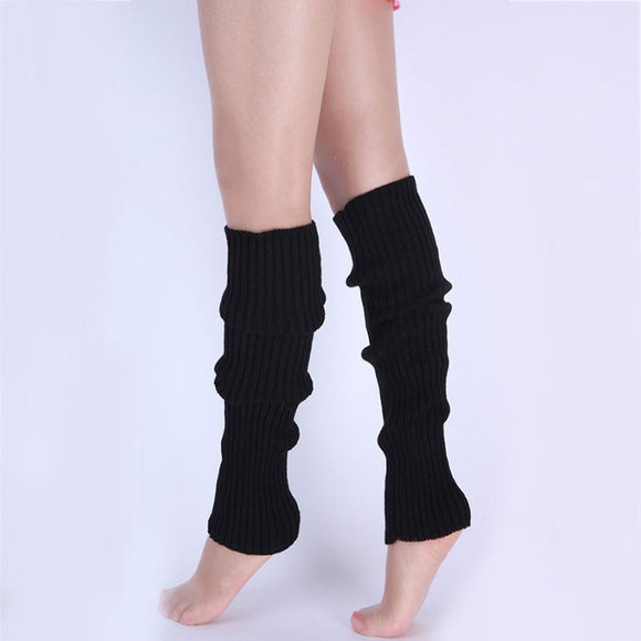 1pair Stylish Women Kniting Leg Warmer Winter Knit Crochet Fashion Lady Legging Foot Warmer XIN-Shipping