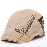 New Summer outdoor Sports Cotton Berets Caps For Men Casual Peaked Caps