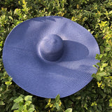 25CM Wide Brim Oversized Beach Hats For Women Large Straw Hat UV Protection
