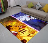 3D Print Carpet Naruto Anime Rug Outdoor Rug Kids Bedroom Rugs
