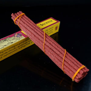 6 Inch Potala tibetan incense purely hand from highly flavoured medicinal herbs, Tibetan Traditional Incense