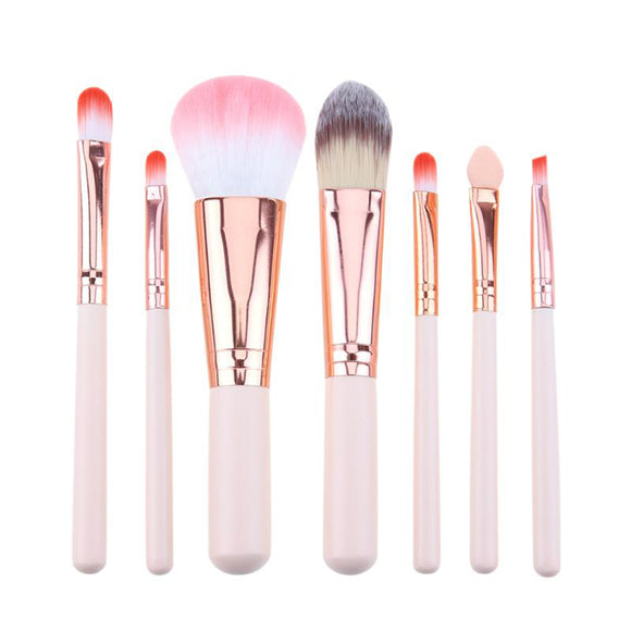 7Pcs Makeup Brushes Set Eye Shadow Foundation Powder Contour Concealer Lip Make Up Brush Beauty Tool Brochas Maquillaje