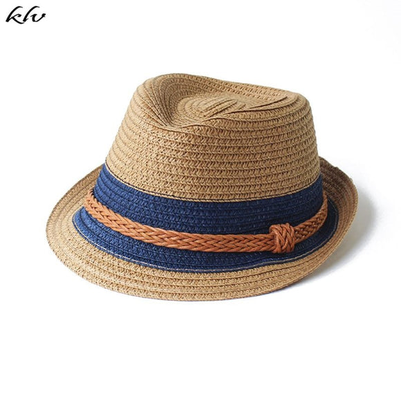 Baby Hat Fashion Straw Cap For Boys Girls Children Breathable Hat Show Kids Hat Beach Caps Summer Sun Hats