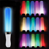Battery Powered Light Stick 15 Colors Change LED Glow Stick Wedding Party Celebration Fluorescent Camping Vocal Concerts Decor