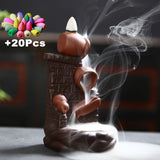 (Best Sellers) Waterfall Incense Burner With Incense Cones For Gift