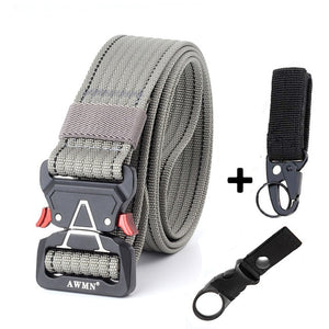Canvas Military Belt Men Tactical Designer Belts