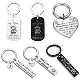 Custom Engrave Keyring Couples Boyfriend Girlfriend Gift Drive Safe Keychain Luxury Friendship Family Key Chain Ring Accesorios