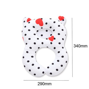 Cute Children Head Neck Protection Pillow Support Babies Headrest Travel Car Seat Pillows New Bedding Accessories