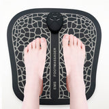 Electric EMS Foot Massager Pad Feet Muscle Stimulator Foot Massage Mat