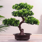 Festival Potted Plant Simulation Decorative Bonsai Home Office Pine Tree Gift DIY Ornament Lifelike Accessory Artificial Bonsai
