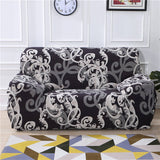 Floral Printing Stretch Elastic sofa cover cotton sofa towel Slip-resistant sofa covers for living room fully-wrapped anti-dust