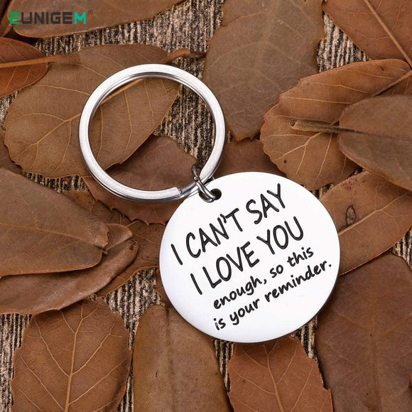 Funny Keychain Birthday Valentine Anniversary Gifts for Boyfriend Girlfriend Him Her Fiance Fiancee Engagement Wedding Present