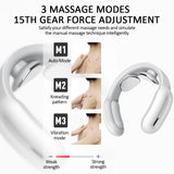 EMS Smart Electric Neck and Shoulder Massager Pain Relief Tool Health Care Relaxation Cervical Vertebra Physiotherapy Massage