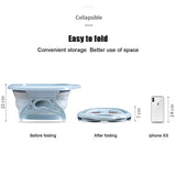 Portable Bathtubs Foldable Foot Soaking Bucket Foaming Massage Bucket Household Sauna Bathtub Pedicure Bath Plastic