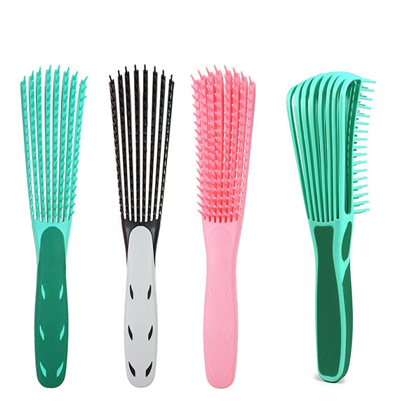 Hair Styling Comb Hair Brush Scalp Massage Curl Comb Women Detangle Hairbrush Health Care Reduce Fatigue Beauty Care