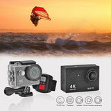 RISE-H9R Wifi Camera 1080P Ultra 4K Sport Action Waterproof Travel Camcorder