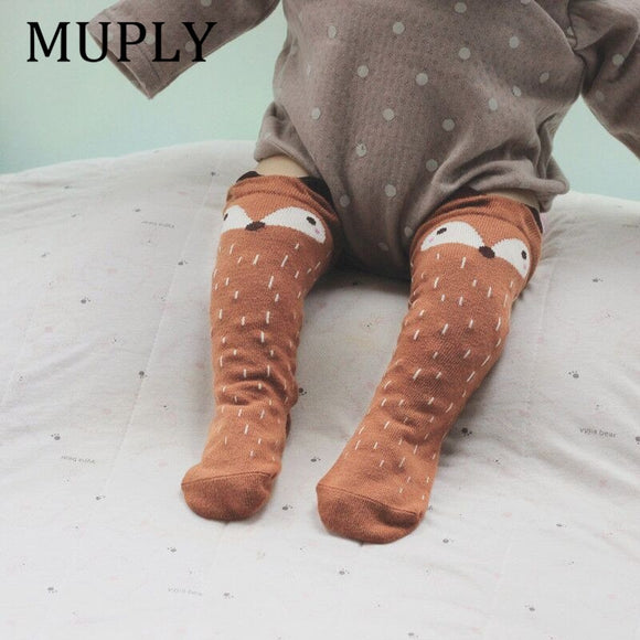 1 Pair Unisex Lovely Cute Cartoon Fox Kids baby Socks