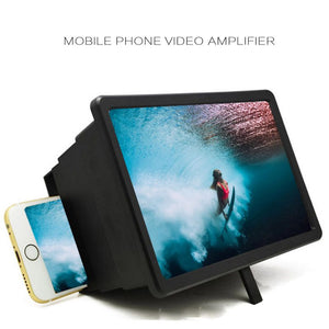 Mobile Phone Screen Magnifier Video Expander 3D Screen Amplifier Stand Holder For Movie Display Magnifying Screen For Phone